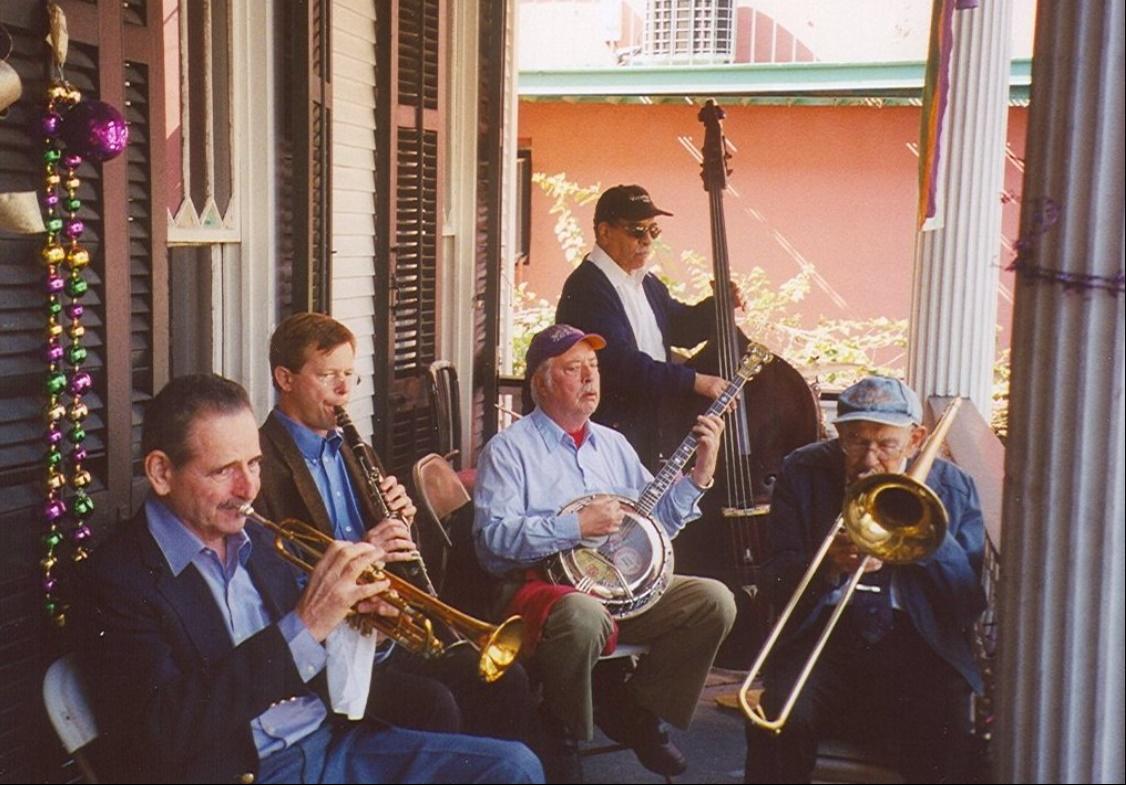 ディキシーランド・ジャズのバンドの画像