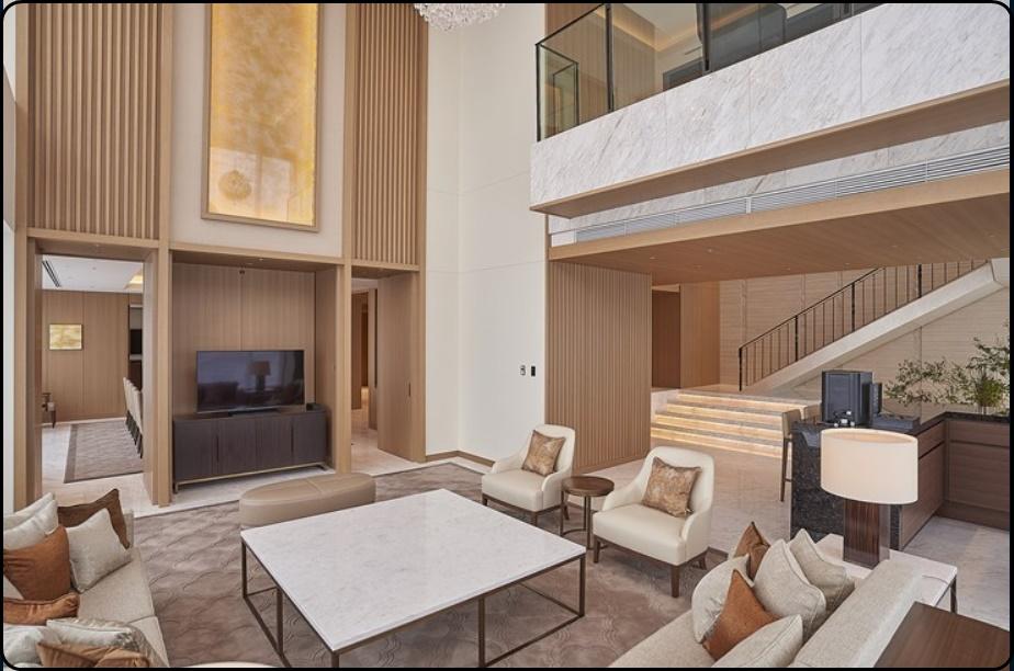 バッハ会長が宿泊したと思われるホテルの部屋の画像